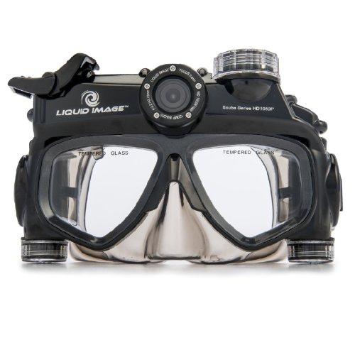 video scuba mask