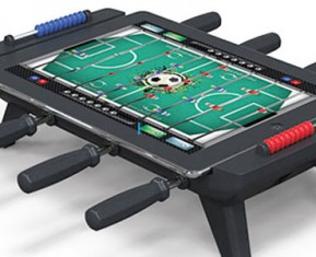 Apple iPad Foosball Table